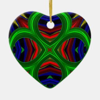 Modelo 471 adorno de cerámica en forma de corazón