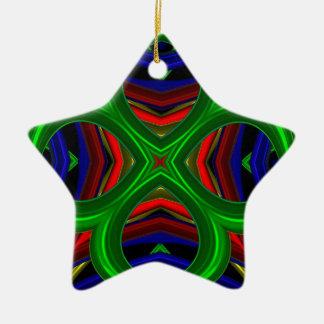 Modelo 471 adorno de cerámica en forma de estrella