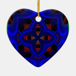 Modelo 473 adorno de cerámica en forma de corazón