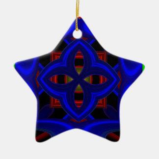 Modelo 473 adorno de cerámica en forma de estrella