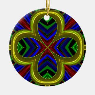 Modelo 474 adorno redondo de cerámica