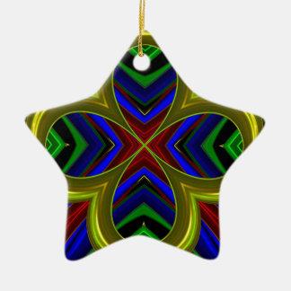 Modelo 474 adorno de cerámica en forma de estrella