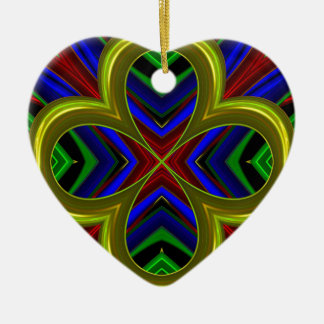 Modelo 474 adorno de cerámica en forma de corazón