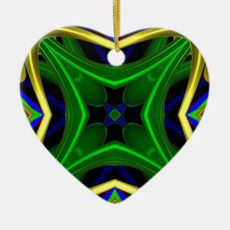 Modelo 475 adorno de cerámica en forma de corazón