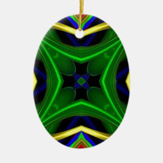 Modelo 475 adorno ovalado de cerámica
