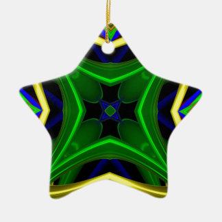 Modelo 475 adorno de cerámica en forma de estrella