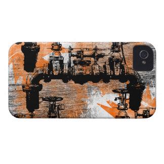 Modelo 58 del Grunge Case-Mate iPhone 4 Cárcasas