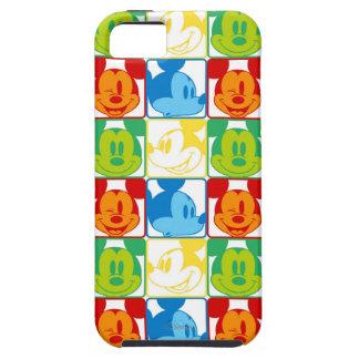 Modelo 7 de Mickey iPhone 5 Case-Mate Cobertura