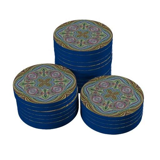 modelo 9 frecuencia intermedia fichas de póquer