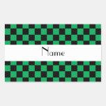 Modelo a cuadros en green.png rectangular altavoces