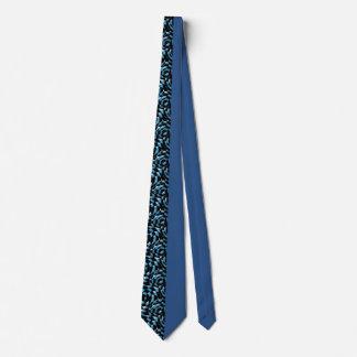Modelo a medias negro del medio azul corbata personalizada