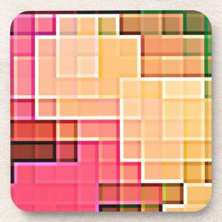 Modelo abstracto 1 del pixel posavaso
