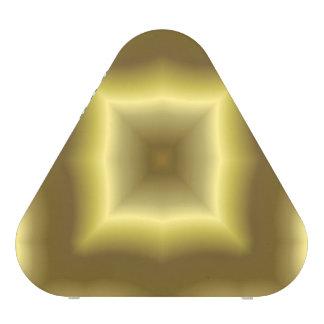 Modelo abstracto amarillo altavoz