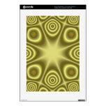 Modelo abstracto amarillo calcomanías para PS3