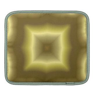 Modelo abstracto amarillo mangas de iPad