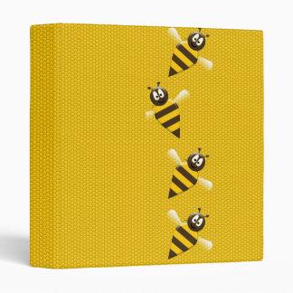 """Modelo abstracto amarillo lindo de las abejas de carpeta 1"""""""