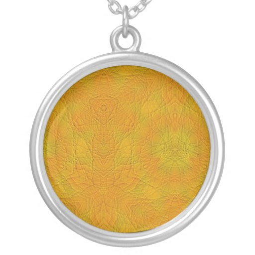 modelo abstracto anaranjado colgante redondo