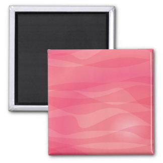 Modelo abstracto anaranjado rosado iman