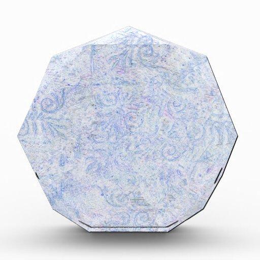 Modelo abstracto azul del remolino
