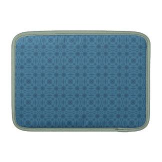 Modelo abstracto azul funda macbook air