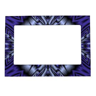 Modelo abstracto azul marcos magnéticos