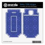 Modelo abstracto azul nokia 7205 intrigue skins