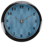 Modelo abstracto azul relojes aquavista