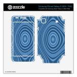 modelo abstracto azul samsung vibrant skins
