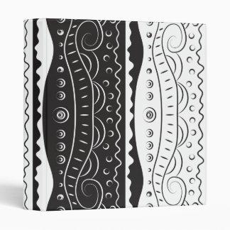 """Modelo abstracto blanco negro carpeta 1"""""""