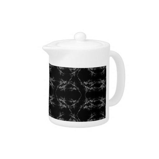 Modelo abstracto blanco y negro