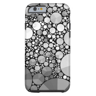 Modelo abstracto Bling iPhone6 duro Funda De iPhone 6 Tough