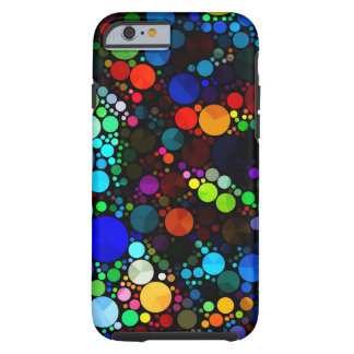 Modelo abstracto Bling iPhone6 duro Funda Resistente iPhone 6