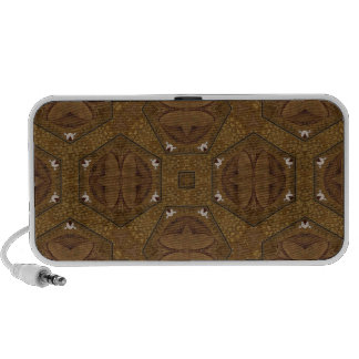 Modelo abstracto Brown iPod Altavoz
