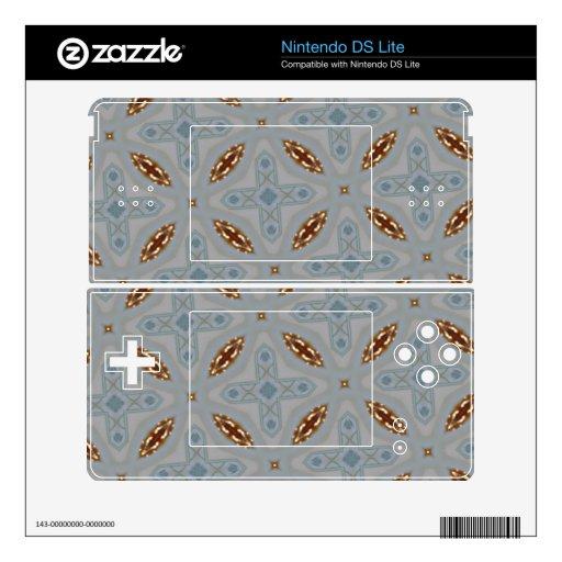 Modelo abstracto calcomanías para el DS lite