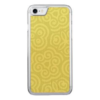 Modelo abstracto chartreuse funda para iPhone 7