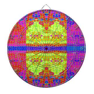 Modelo abstracto colorido: