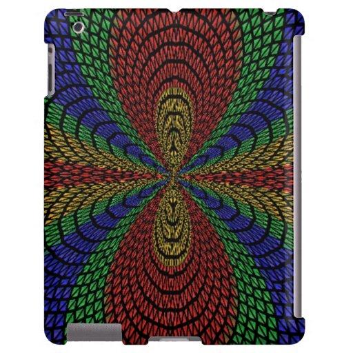 Modelo abstracto colorido