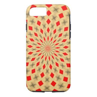 Modelo abstracto colorido agradable funda iPhone 7