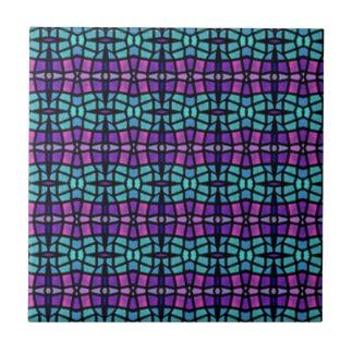 Modelo abstracto colorido azulejos ceramicos