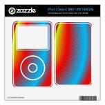 Modelo abstracto colorido calcomanías para el iPod