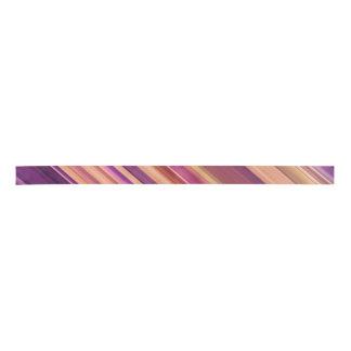 Modelo abstracto colorido de las rayas lazo de raso