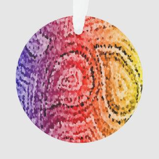Modelo abstracto colorido de Paisley del mosaico