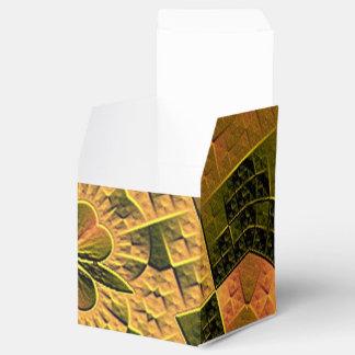 Modelo abstracto colorido fresco caja para regalo de boda