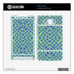 Modelo abstracto colorido HTC HD2 calcomanías