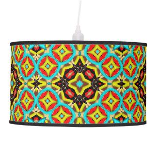 Modelo abstracto colorido lámpara de techo