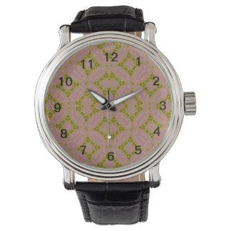 Modelo abstracto colorido relojes de pulsera