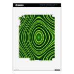Modelo abstracto colorido pegatina skin para iPad 3