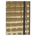 Modelo abstracto de Brown Camo de las tejas de mos