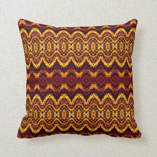 Modelo abstracto de la alfombra almohada