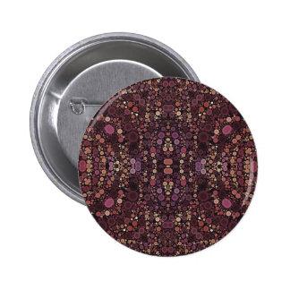 Modelo abstracto de la lavanda pin redondo 5 cm